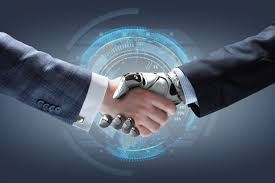 AI handshake